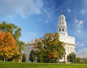 seasons of nauvoo calendar nauvoo temple fall by tom simpson photography