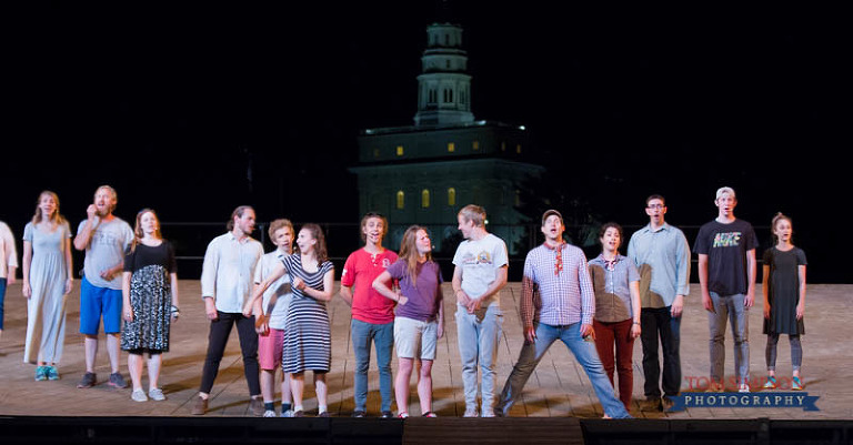 historic nauvoo pageant stage core cast rehearsal 2016